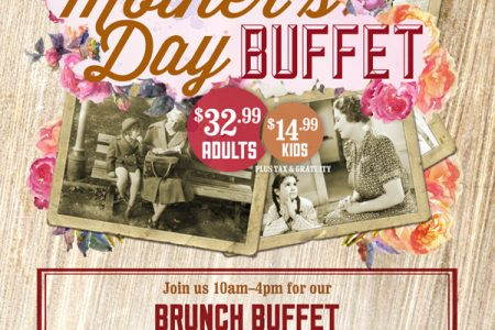 Celebrate Mother's Day with a BBQ Brunch Buffet at Rack House