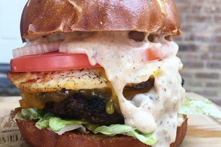 Build-Your-Own Burger at Butcher and the Burger