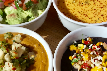 """Final Four"" Fiesta Dips at Cantina Laredo"