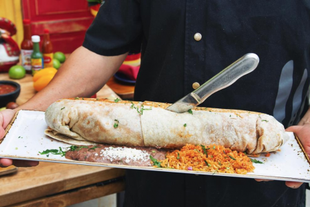 Fat Rosie's Celebrating National Burrito Day with 12-minute Burrito-eating Challenge