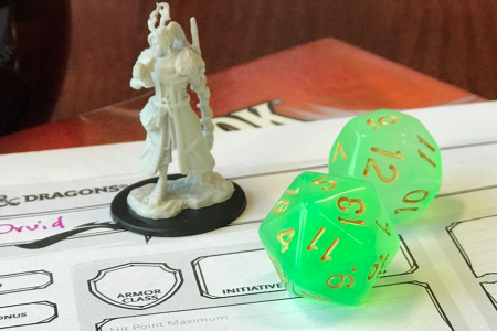 Dungeons & Dragons Custom Campaign at Bonus Round Cafe