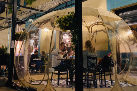 Le Sud Unveils New Heated Dining Domes