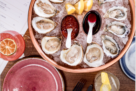 Venteux Celebrates National Oyster Day, August 5, with $1 Oysters All Day