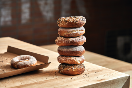 Rye Deli + Drink's Bagels Have Launched at East Bank Club