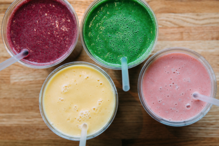 Start Your Day with a Smoothie at M Burger