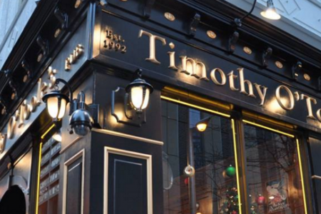 Timothy O'Toole's Pub Launches New Dining Deal