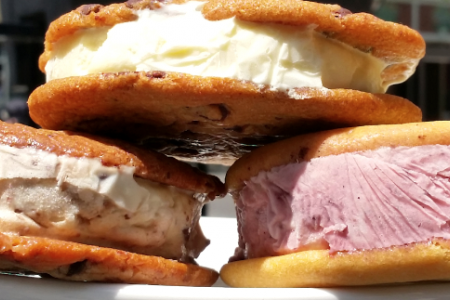New Ice Cream Sandwiches at Jerry's