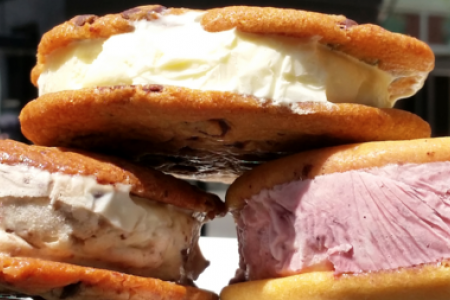 Celebrate Ice Cream Sandwich Day at Jerry's