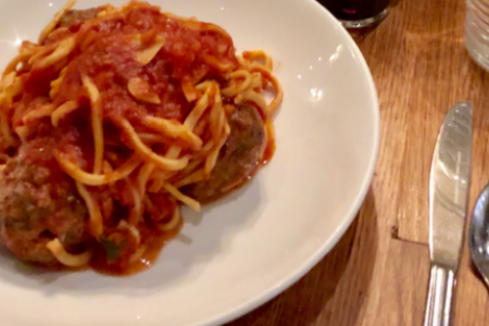 Bar Roma Unveils New Spaghetti and Meatballs Prix Fixe