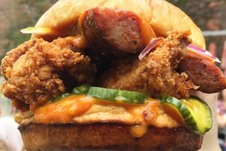 Honey Butter Fried Chicken and Smoque BBQ Create the Smoque Bomb Clucker Collaboration Series