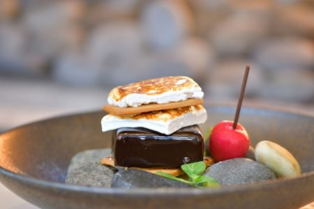 Celebrate National S'mores Day at Travelle at The Langham