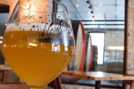 Allagash Brewing Company's Fifth Annual Saison Day at Off Color Brewing on April 14
