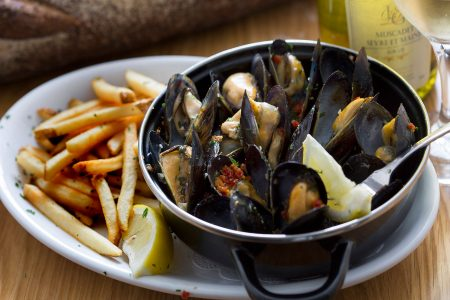 All-You-Can-Eat Mussels at Chez Moi