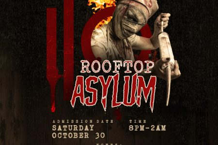 I|O Godfrey Hosts Rooftop Asylum Halloween Party