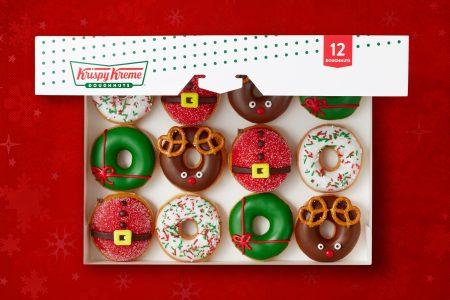 Krispy Kreme Debuts Holiday Treats: North Pole-inspired Doughnuts & a Chocolate Glazed Wonderland