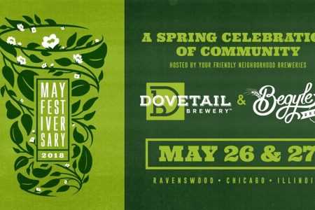 Begyle Brewing & Dovetail Brewery to Host Second Annual Mayfestiversary on May 26 & 27