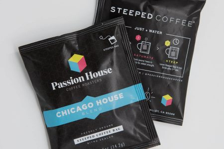 Passion House Coffee Roasters Introduces Steeped Coffee