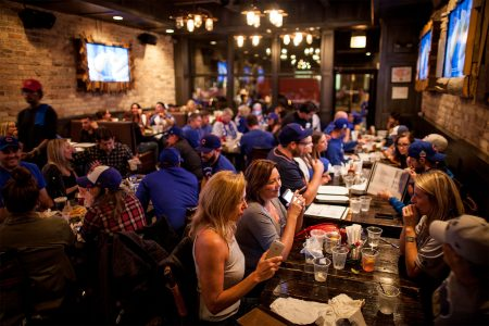 Rockit Burger Bar Kick-Off Cubs Season with Viewing Party