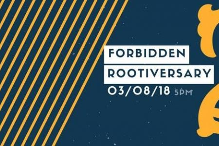 Forbidden Root Hosts Rootiversary Bash on March 8
