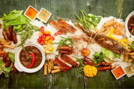 Kamayan Feast at Sunda on Sunday, April 23