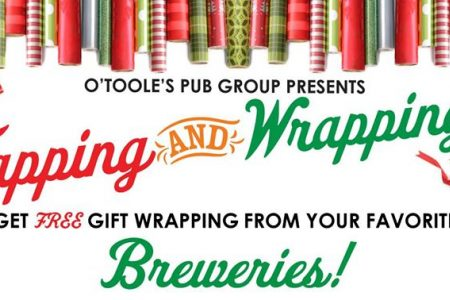 """Tapping and Wrapping"" Event at Timothy O'Toole's Pub"