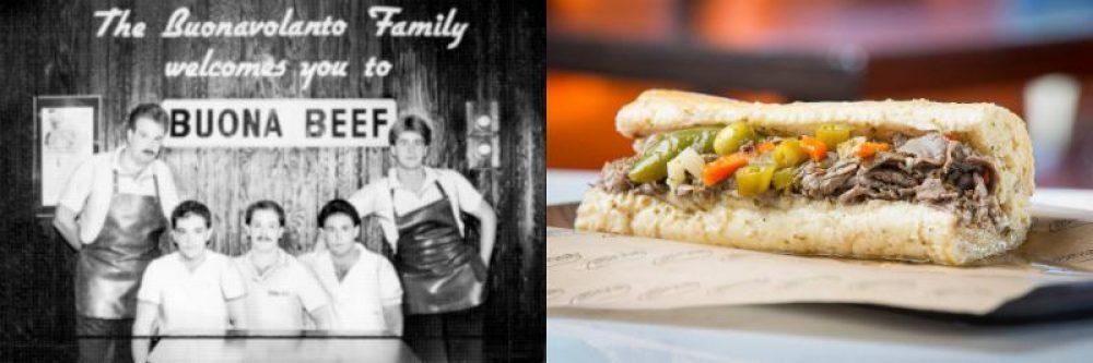Buona History Sandwich