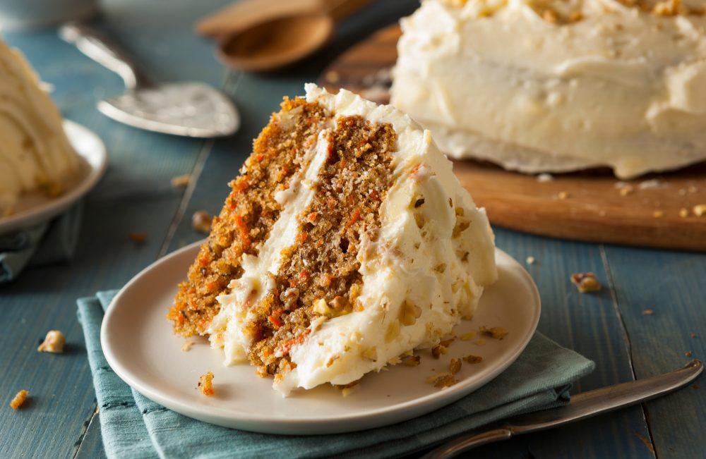 Carrot Cake. Photo credit Canva - BHofack
