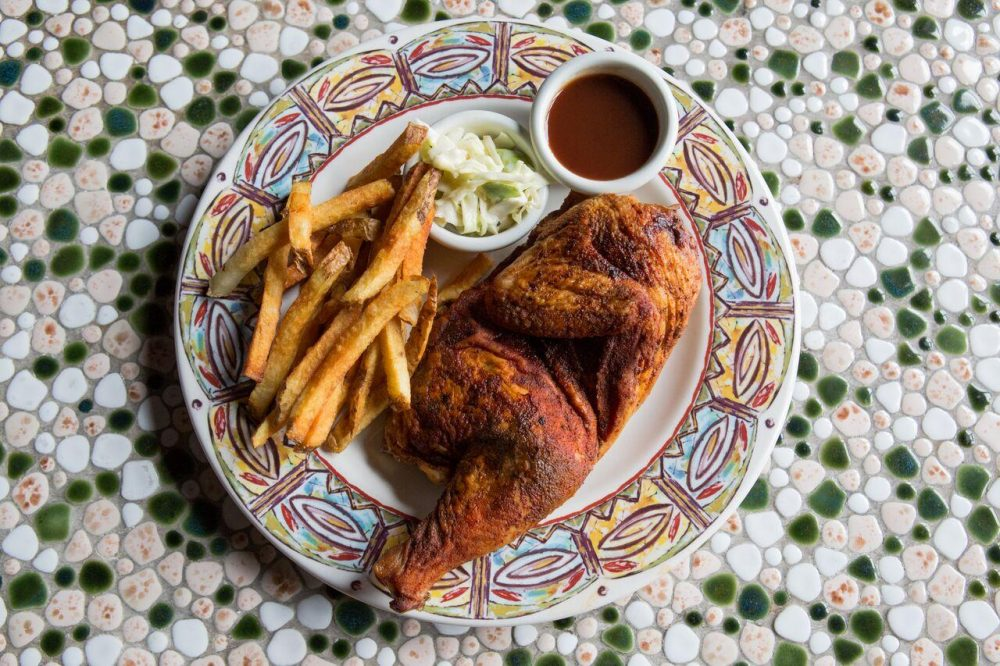 Slow-Roasted Half Chicken