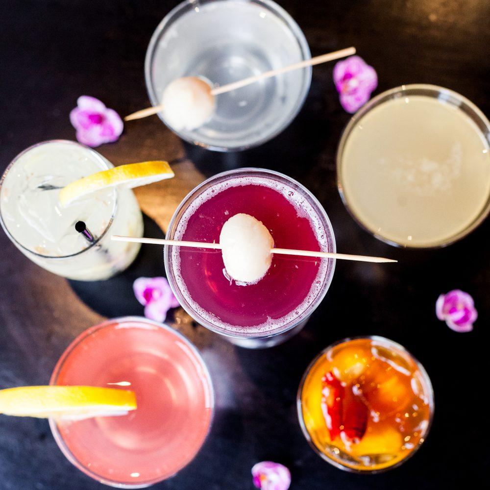 Cocktail Collage 1 Koi
