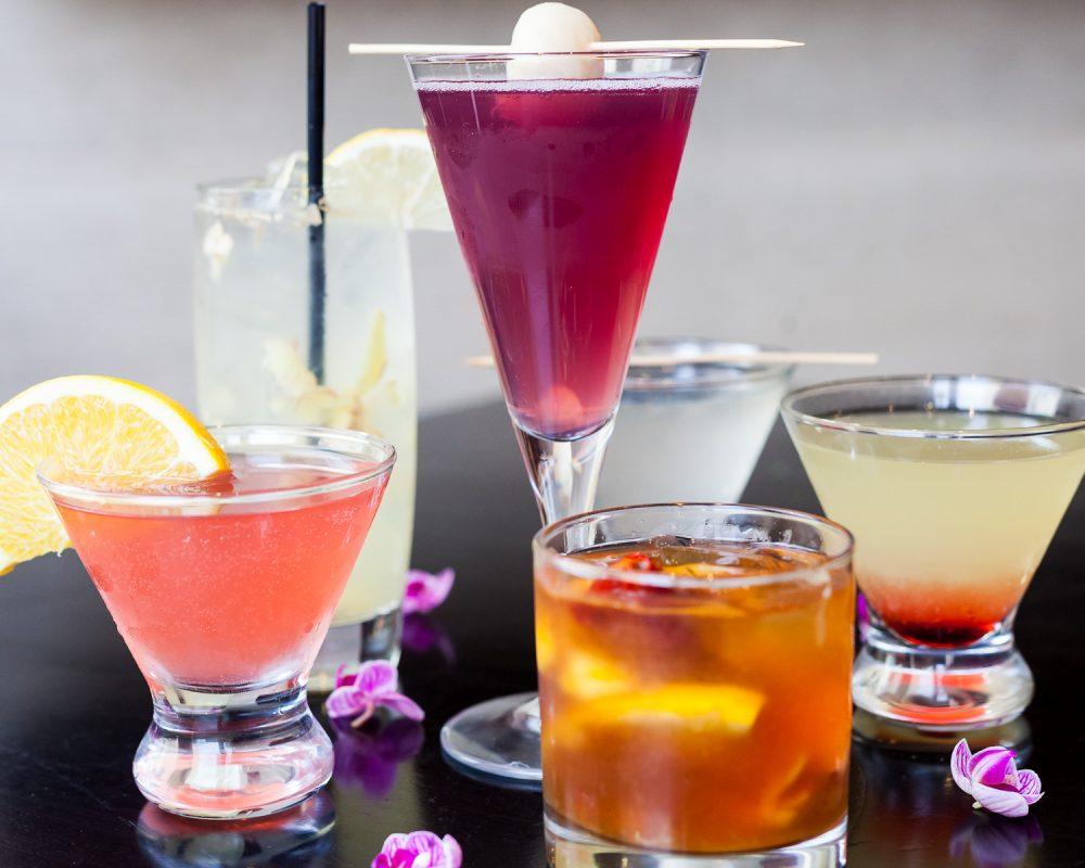 Cocktail Collage 2 Koi