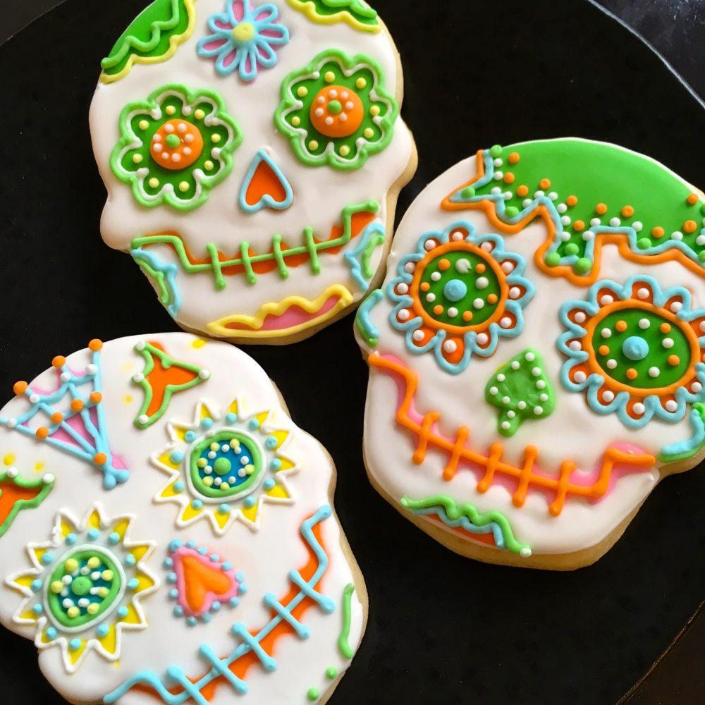 Cocoa Co Skull Cookies