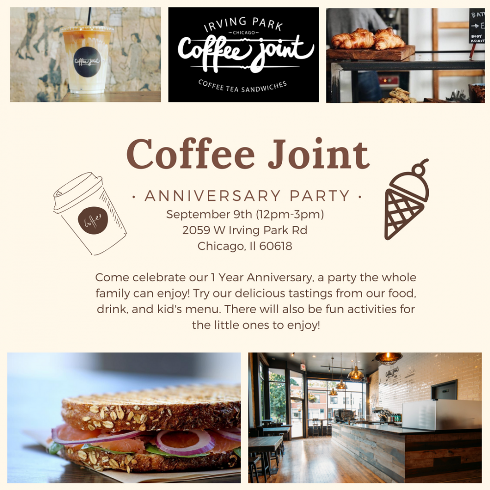 Coffee Joint Event Flyer