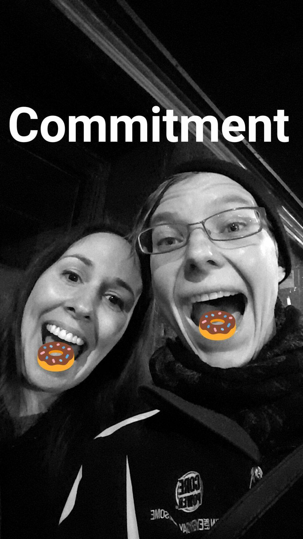 Donut commitment - Lauren Knight