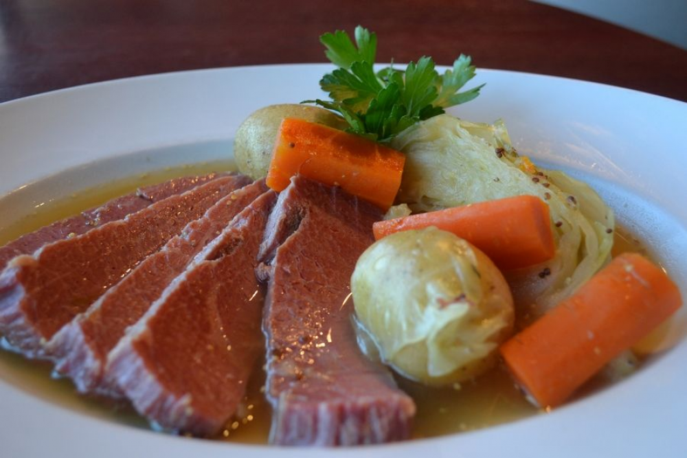 Corned Beef Dinner at Prairie Grass Cafe March 17