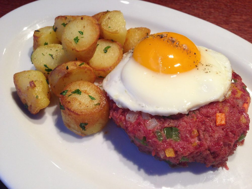 Corned Beef Hash at Prairie Grass Cafe