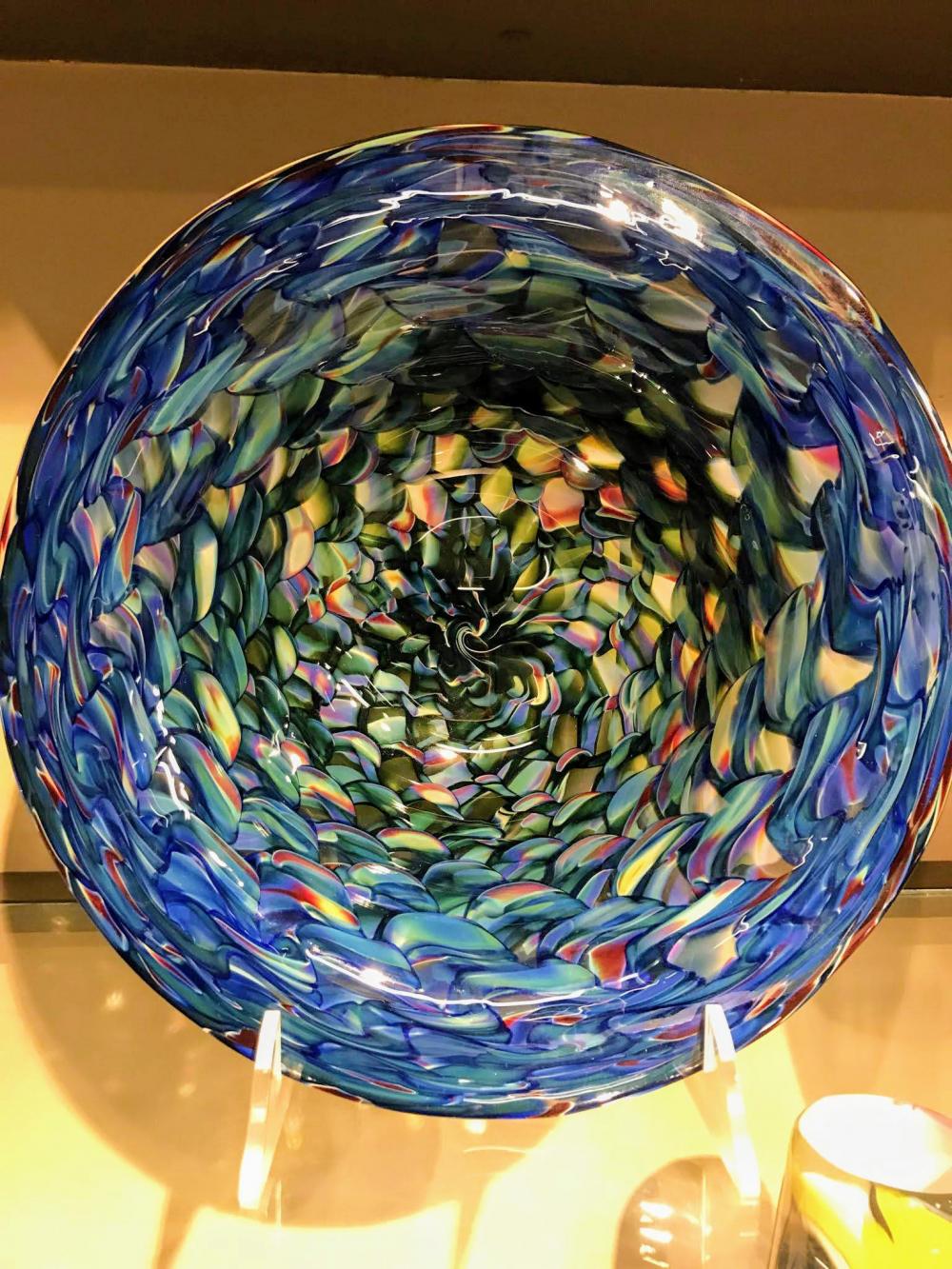 Dan Sviland Glass Bowl