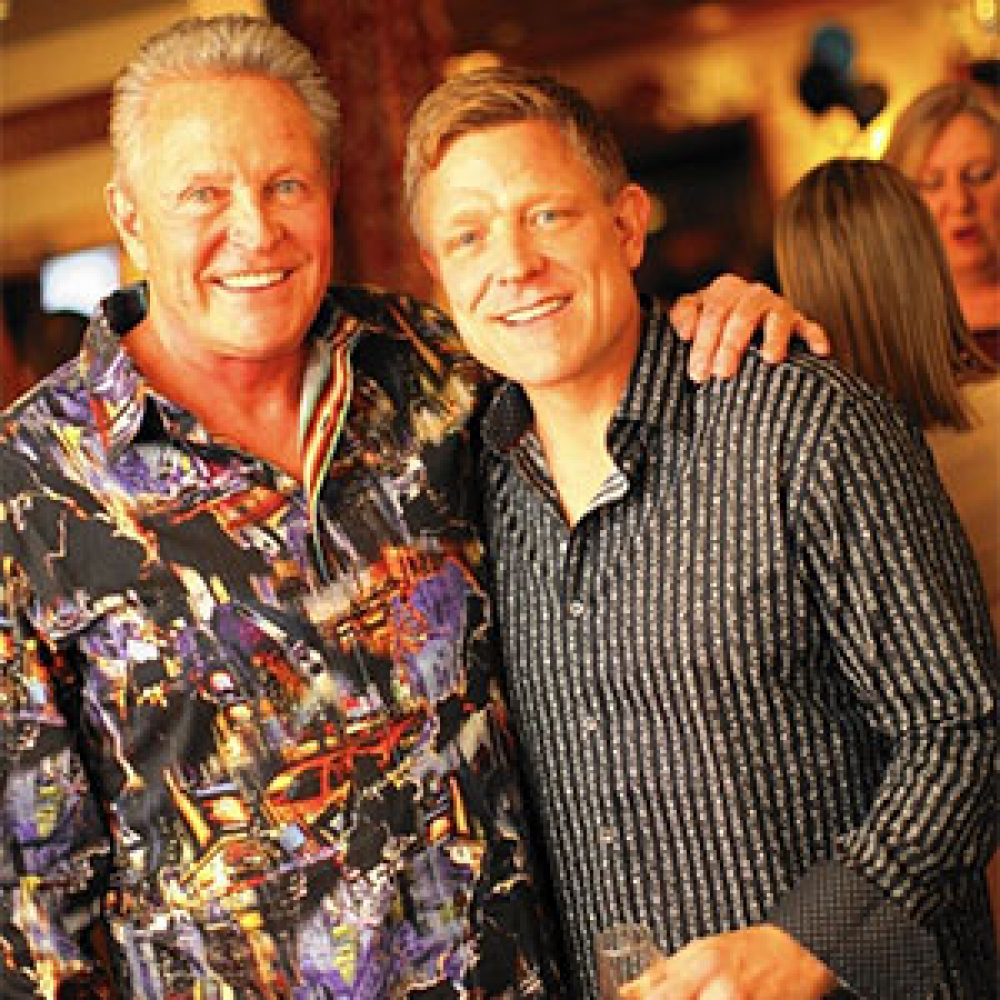 Fred Hoffmann Pictured With Son Mark Hoffmann 300X300