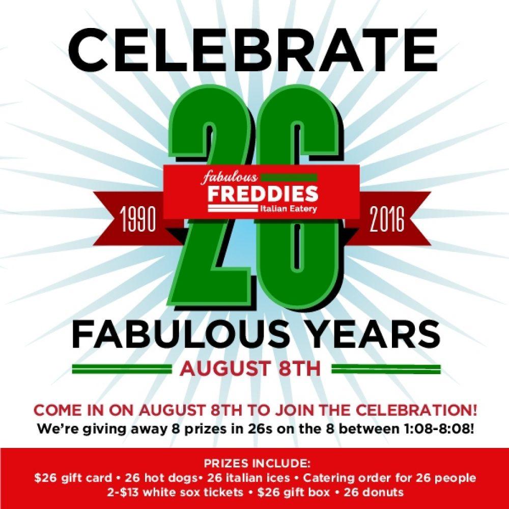 Freddies 26Th Social