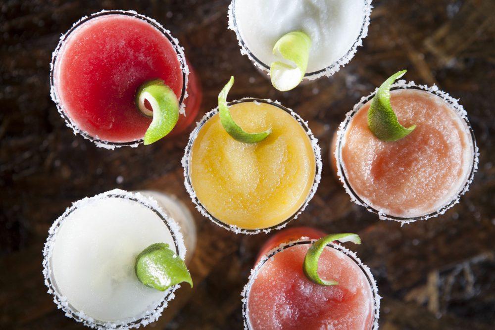 Fruit Margaritas At Taco Joint