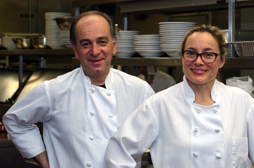 George Bumbaris and Sarah Stegner, co-owners/chefs, Prairie Grass Cafe