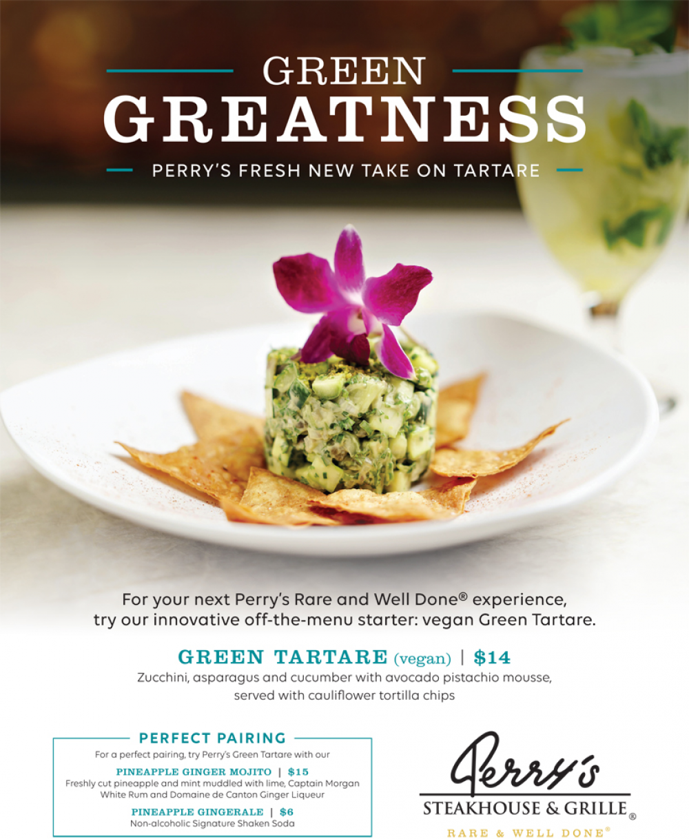 Green Tartare Promotion