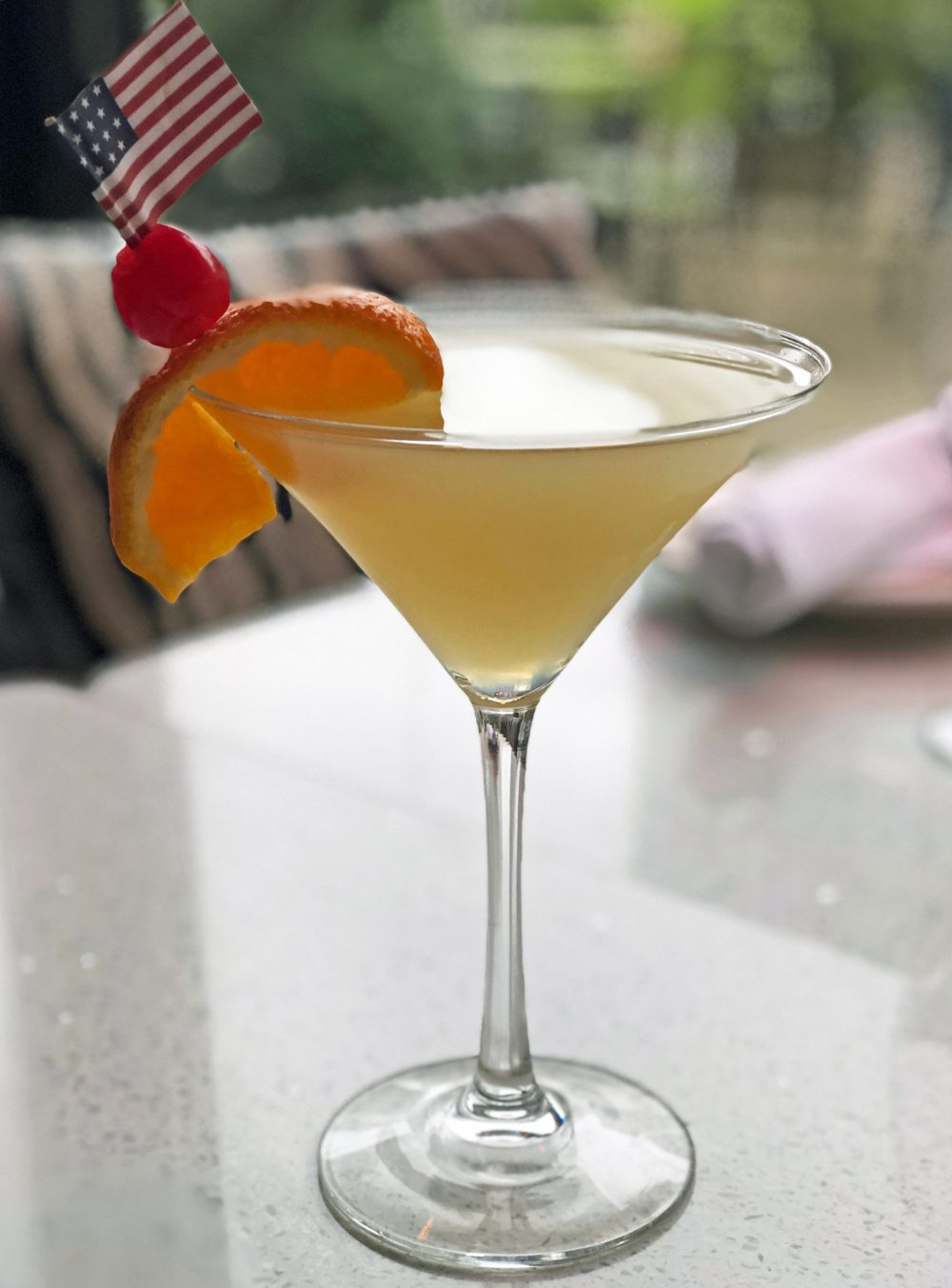 In Peach Me Martini at Kit Kat Lounge & Supper Club