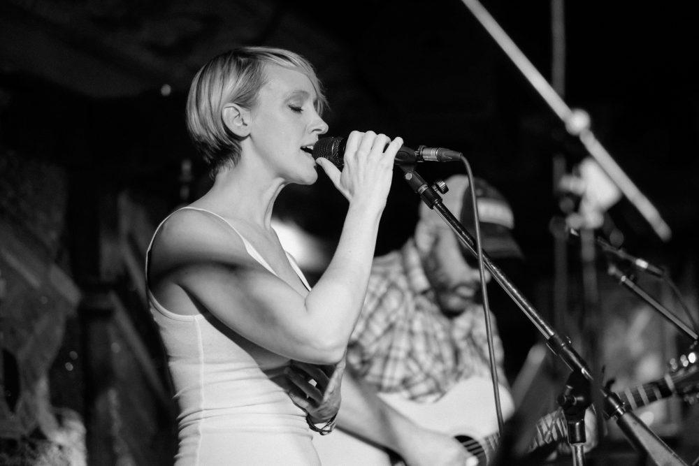 Jennifer Fletcher on the Bud Light Artist Stage at Houndstooth Saloon