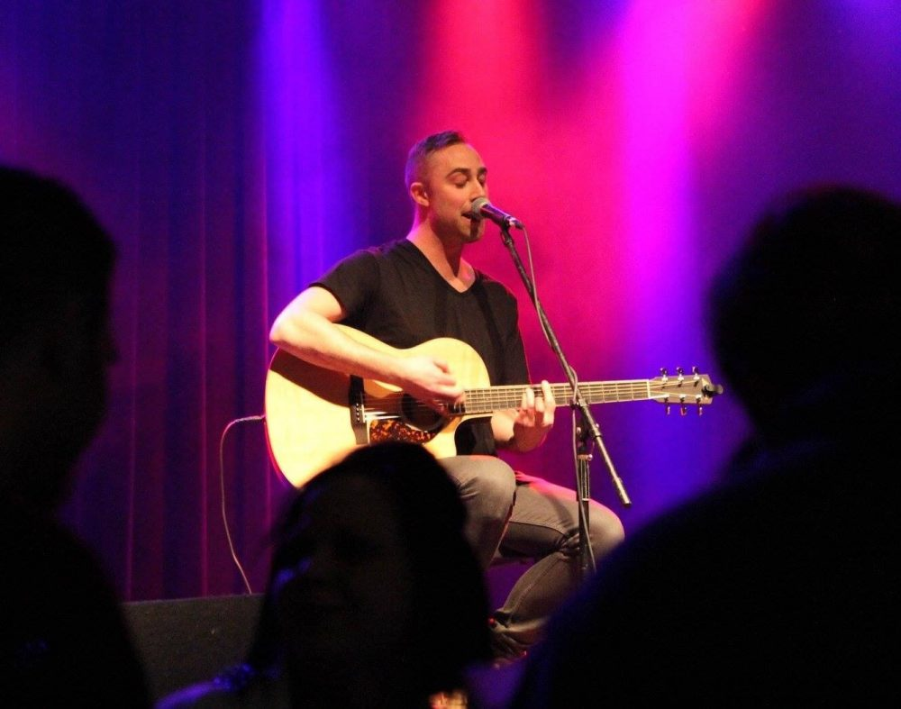 Josh Bryant live on the Bud Light Artist Stage May 5