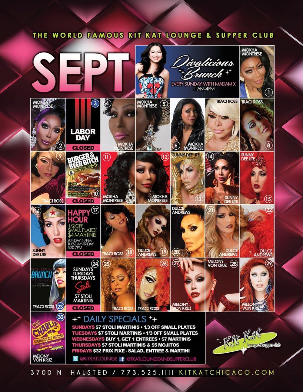 Kit Kat September 2018 Divas Calendar Image