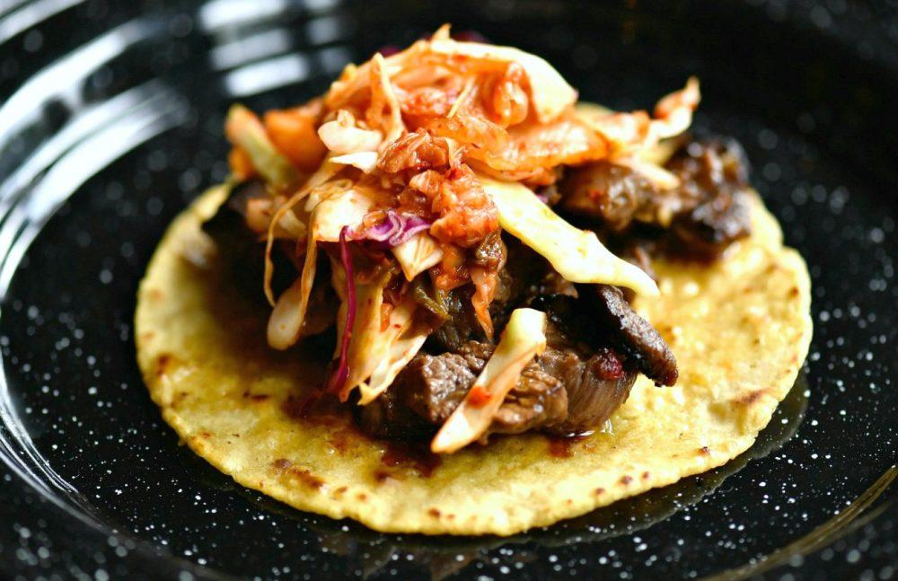 Rojo Gusano-Ravenswood Korean BBQ Taco