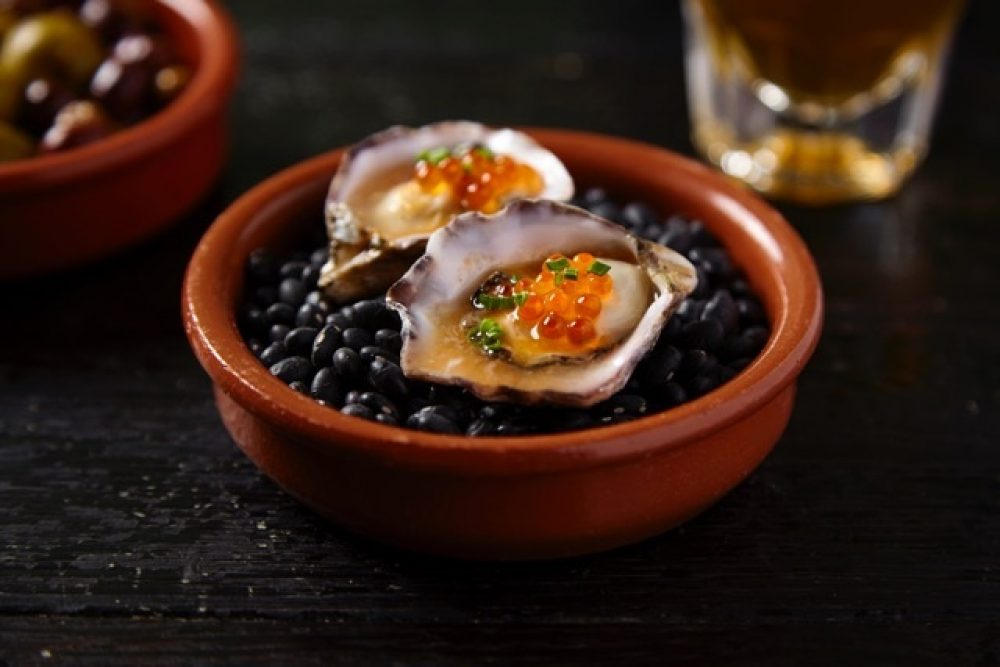 Kusshi Oysters Escabeche