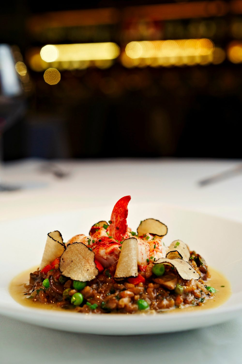 Lobster Truffle Risotto at Perry's Steakhouse & Grille