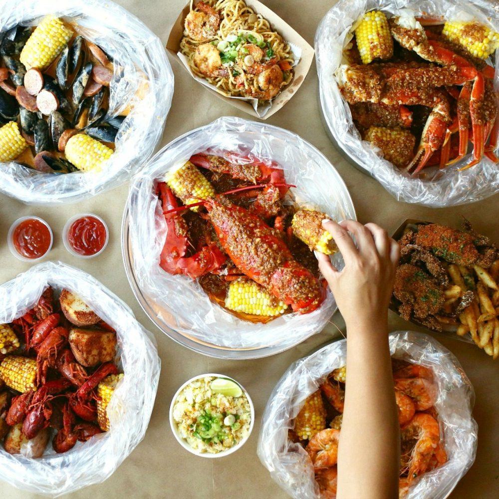 Mad Boiler Seafood Options