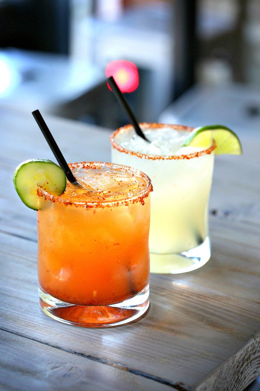 Rojo Gusano Mezcal Cocktails